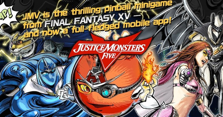 Justice Monsters Five Pinball