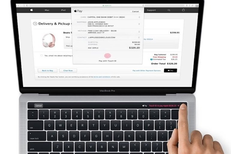 Macbook Pro OLED - keynote Apple