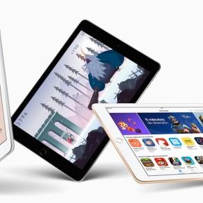 Nuevo iPad 9,7 en varios colores