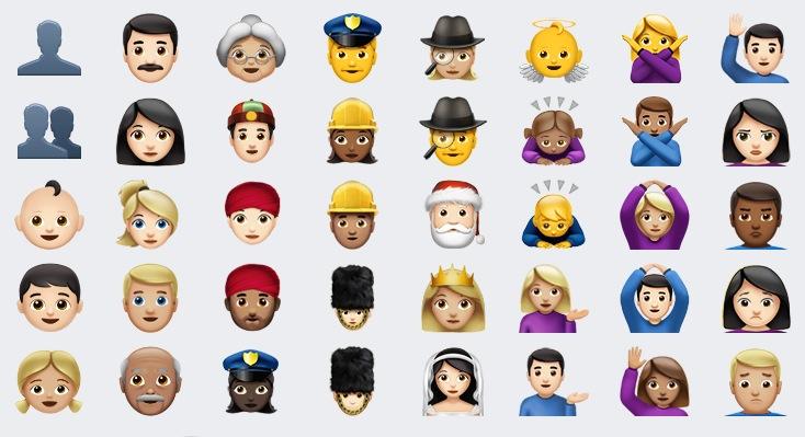 Nuevos Emoji iOS 10