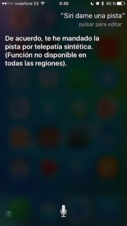 Pista Siri 6