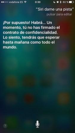 Pista Siri 7