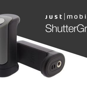 ShutterGrip - Grip y disparador remoto para teléfonos móviles