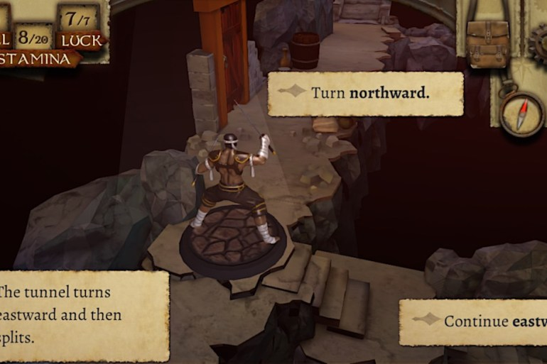 The Warlock of Firetop Mountain - Juego de rol