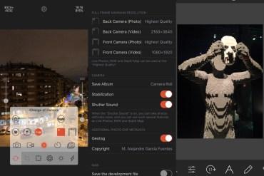 Camera RX iPhone app