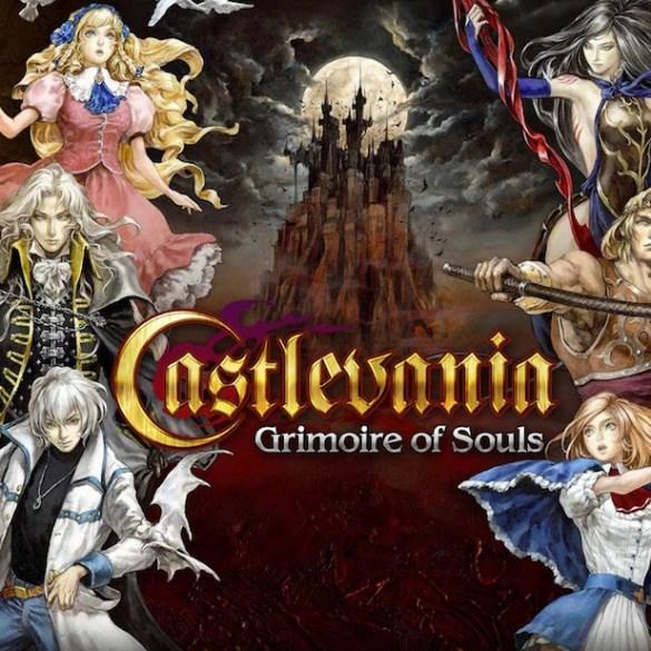 Imagen promocional de Castlevania Grimoire of Souls