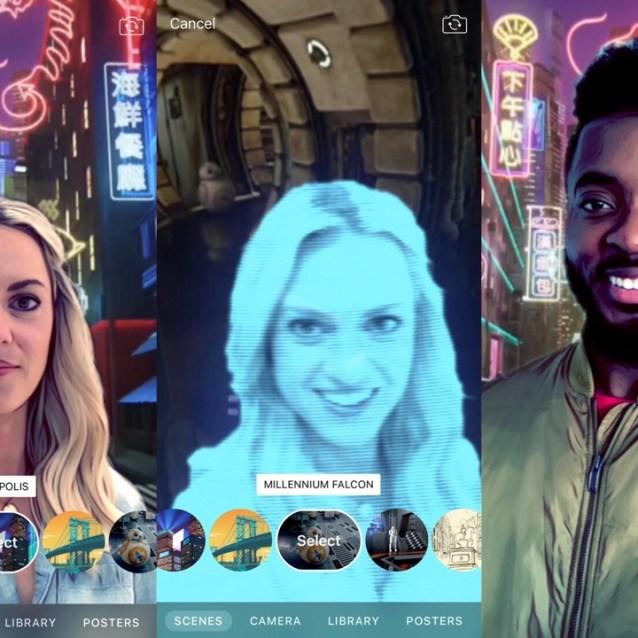 Clips 2.0, con nuevas escenas 360º para iPhone X