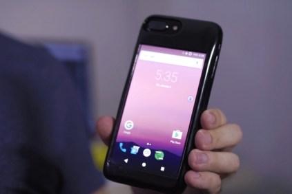 Funda eye para iPhone con Android 7.1