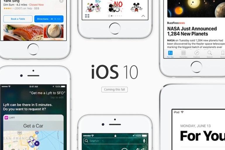 iOS 10 novedades