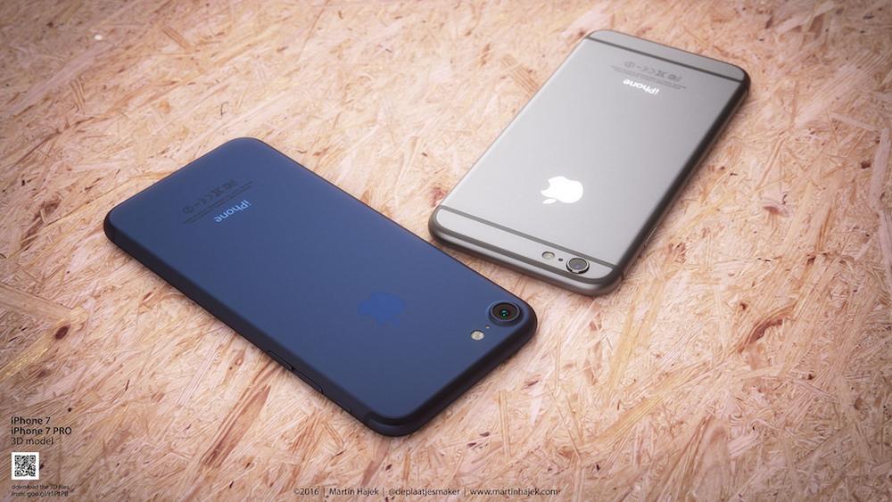 iPhone 7 Deep Blue 2