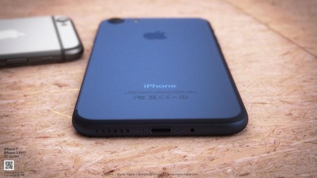 iPhone 7 Deep Blue 3