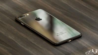 iPhone 7 render piano black