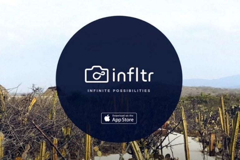 infltr gratis iOS