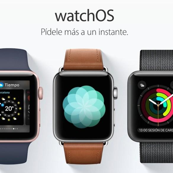 watchOS 3 Apple Watch