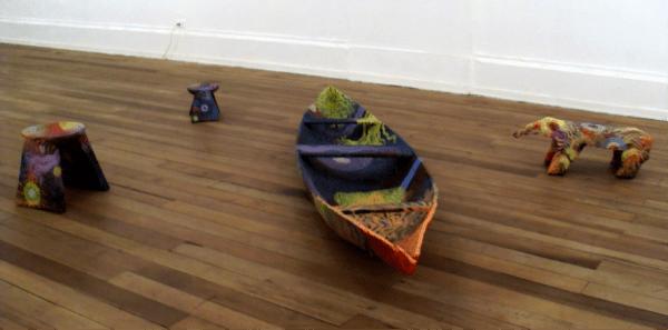"""Benjamín Jacanamijoy, """"Los pensadores de tierra y agua"""" (2009)"""