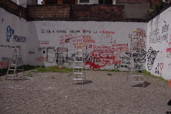 Muro de la palabra - Diego Arets - 2014