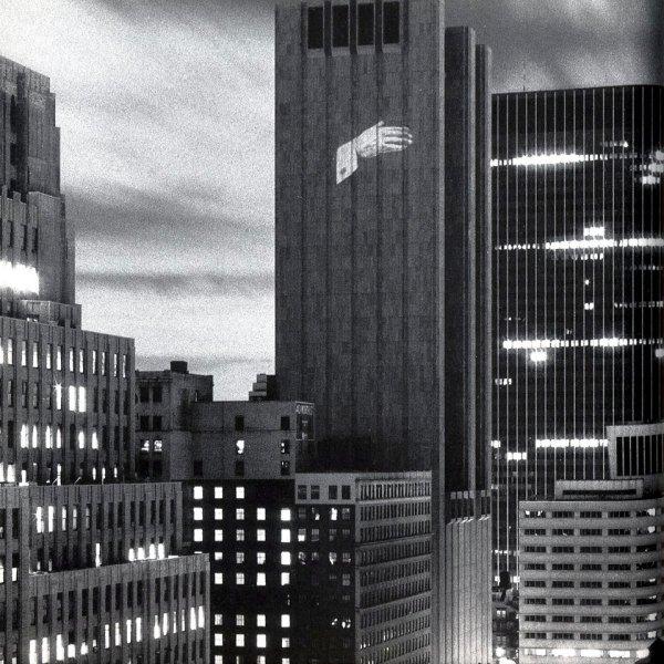 Krzysztof Wodiczko. Proyección en el edificio AT&T, 1984
