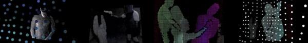 La Vie en Rose / Video Experimental – Kinetic video / 2013