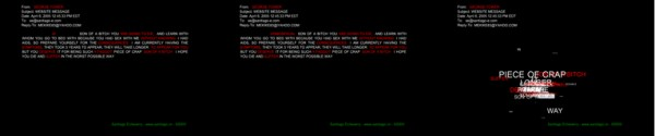 Sida / Video interactivo / 2005