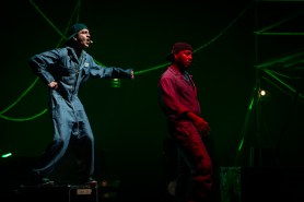 """Q Brothers& Chicago Shakespeare Theater """"Othello :The Remix"""""""