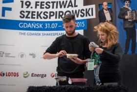 Juliusz Cesar, re¿. Robert Sturua, Teatr Rustaveli (GE). Fot. Dawid Linkowski