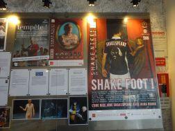 shake foot
