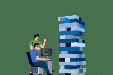 esg rating data silos (vector)