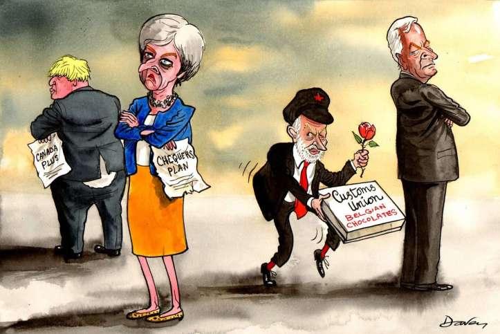 Peter Schrank; Political Cartoonist - BREXIT