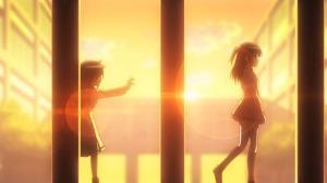Screenshot from Watamote with Tomoko and Imae