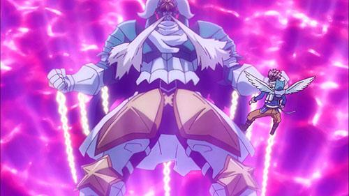 The Celestial King chained down in Fairy Tail Episode 43