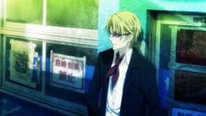 Screenshot of Izumo Kusanagi from the anime K