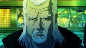 Screnshot of Daikaku Kokujouji in the anime K