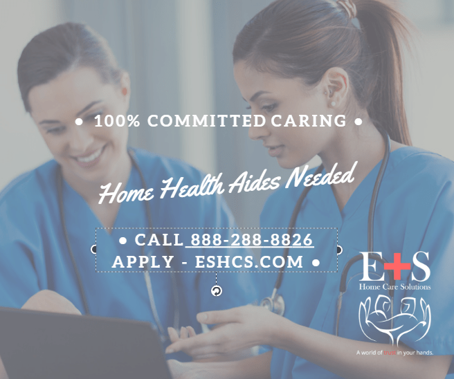 100% Committed to Care - Hiring Certified Home Health Aides