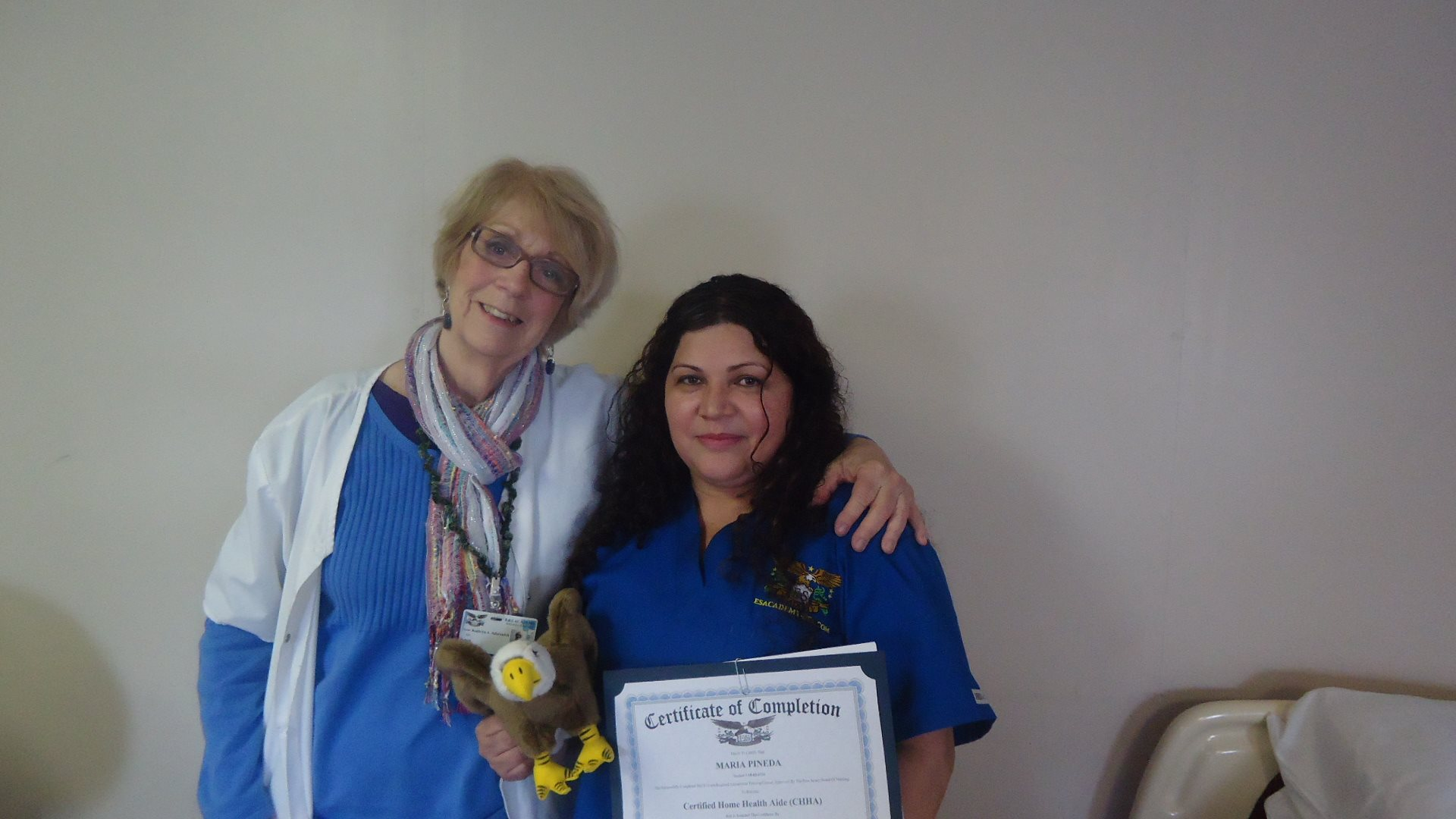Home Health Aide Ready to Provide In Home Support Care Services