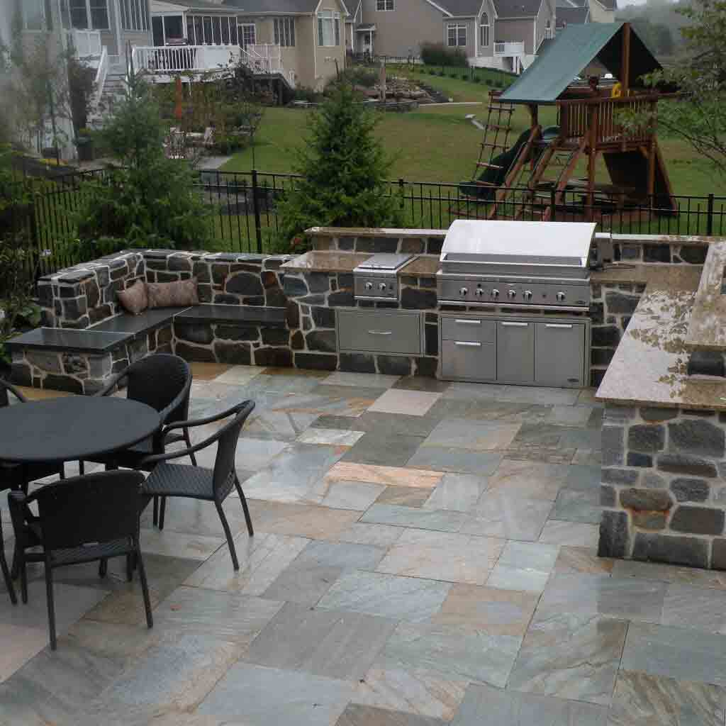 Paver Patio in Lancaster, PA Eshelman Mill Gardens and Landscapes
