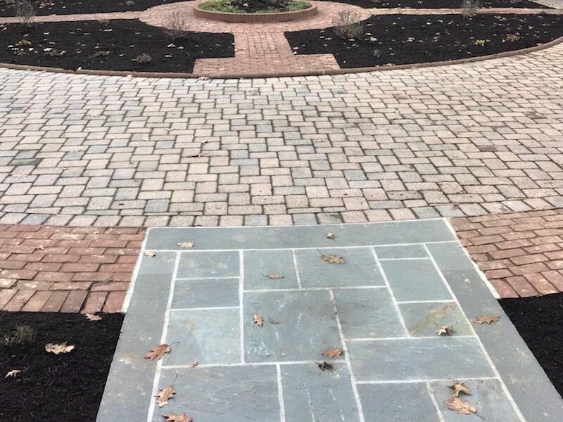 Detail of Hardscape Design in Lancaster, PA