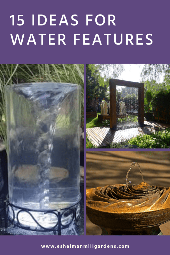 15 Ideas for Inspired Water Features