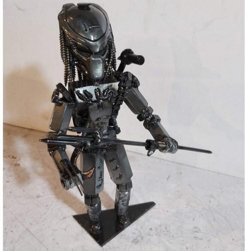 scifi postavy Sochy z kovu Predator
