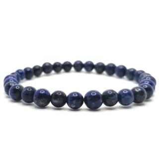 Náramek lapis lazuli 6 mm