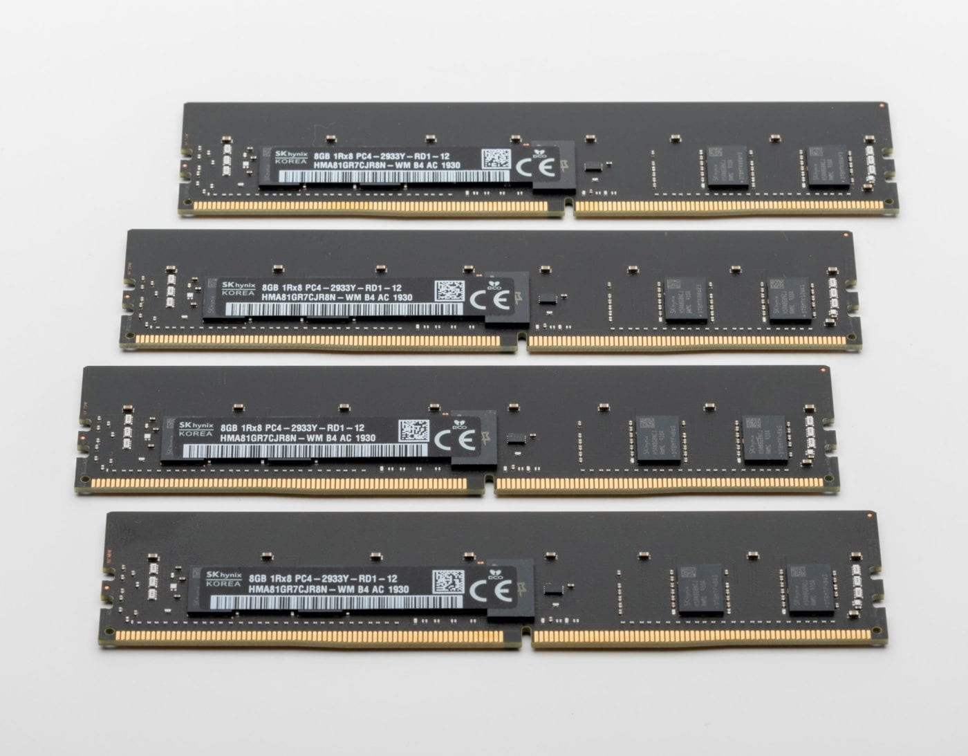 2019 Mac Pro – Stock Apple Ram (4 x 8GB)