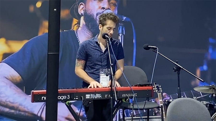 Will Champlin live at the OWC booth NAMM 2020