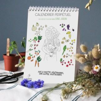 calendrier des plantes à cultiver sur un balcon, perpétuel, illustré