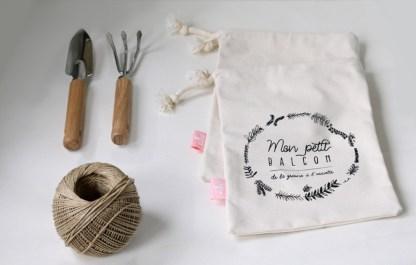 pochette à vrac en coton bio par Kufu pour adopter le mode zéro déchet et faire les courses en vrac