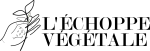 LOGO l'échoppe végétale, concept store de plantes pour balcon et box jardinage pour citadins