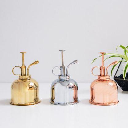 Brumisateur en cuivre vintage pour plantes d'intérieur - L'échoppe Végétale