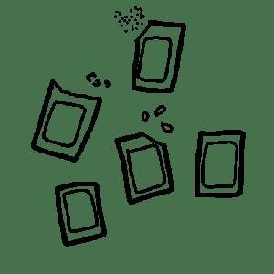 box jardinage bio : petits sachets de graines bios et reproductibles | l'échoppe végétale