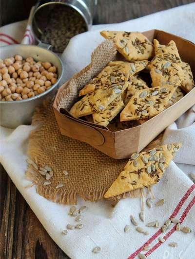 recette d'été : crackers sans gluten