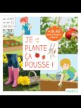 livre pour jardiner avec les enfants en famille : Je plante ça pousse - Rustikid - Philippe Asseray (Auteur), Charlène Tong (Illustrations)