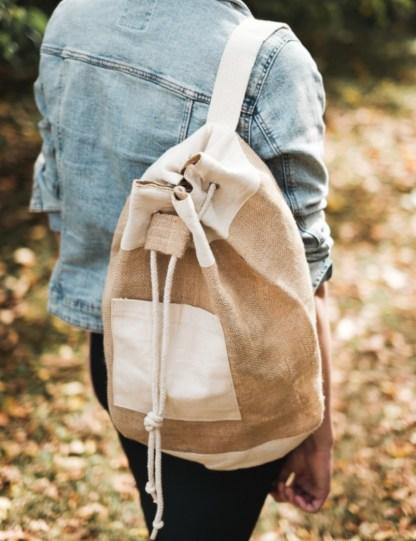 box jardinage bio été : sac marin en jute et coton pour des vacances sur la plage en mode zéro déchet et minimaliste