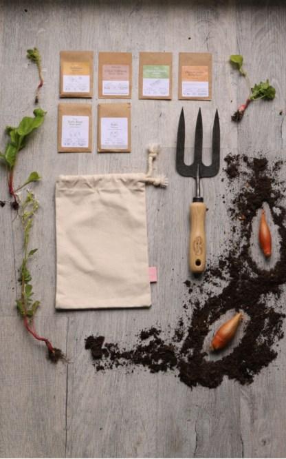 Idée cadeau éthique jardinage : la box paparadis pour la fête des pères - échoppe végétale